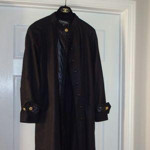 Chanel Full length rain coat.